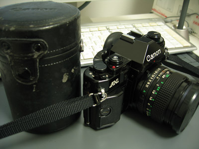 Canon A-1/New FD 50mm F1.4&New FD 35-70mm F4