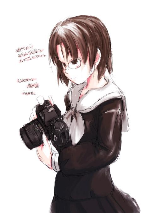 Canon A-1と蔦子さん
