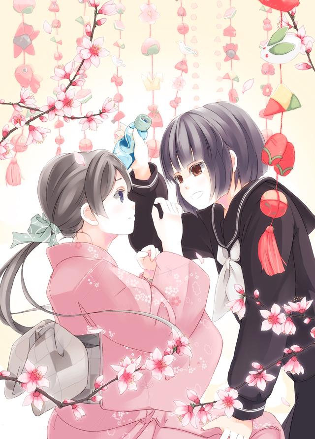 Girls Love Festival 11 パンフレットイラスト