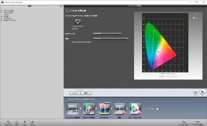 Wacom Color Manager ディスプレイの設定