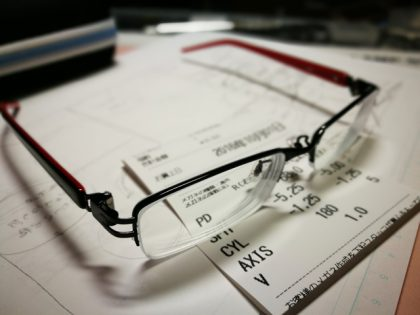 眼鏡新調しました。その2